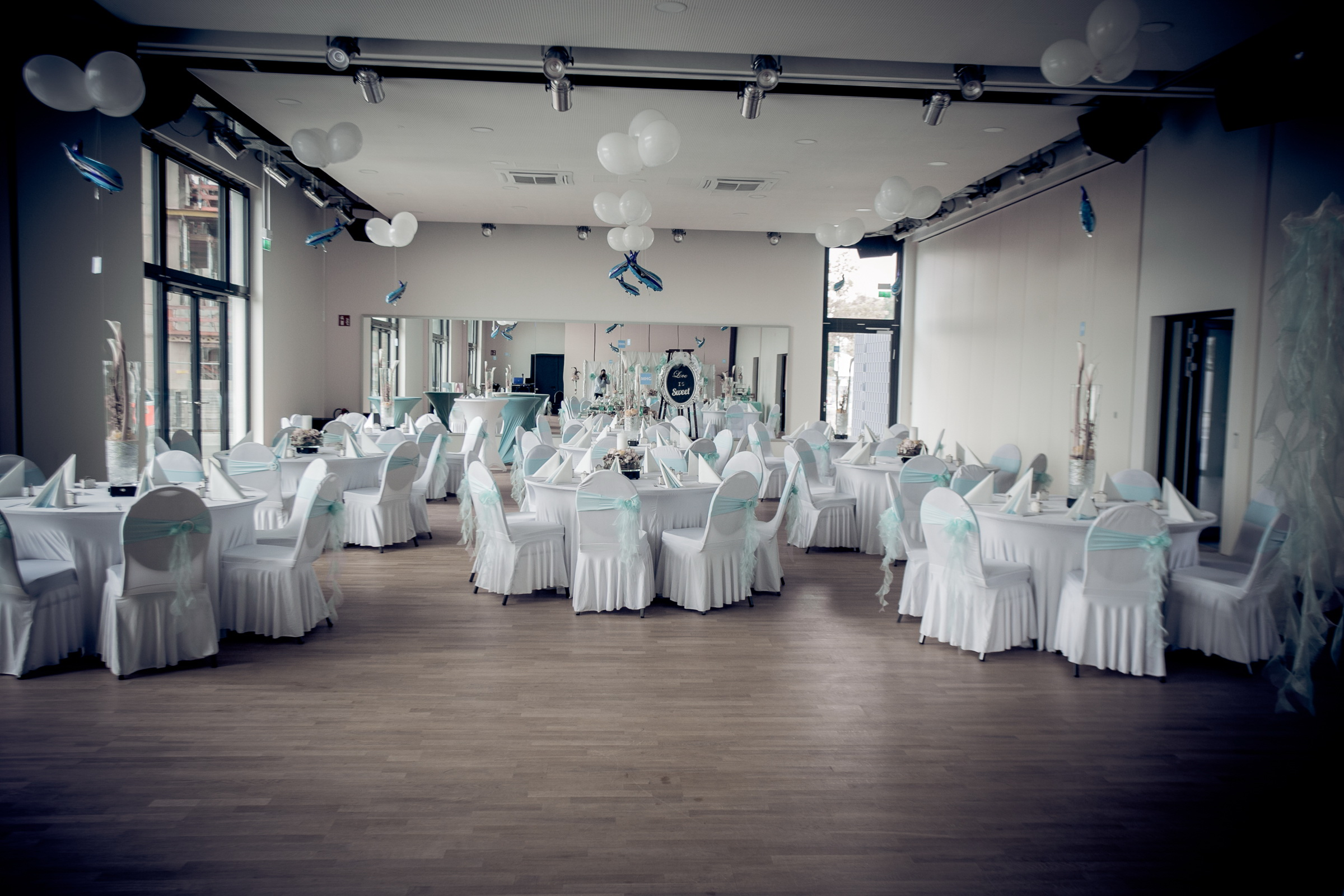 Saarrondo Dekoratiosbeispiel Hochzeitsfeier