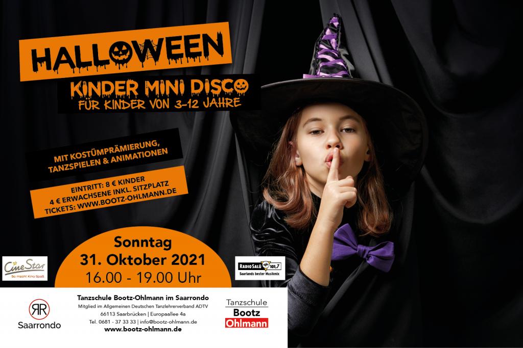 Halloween events saarland saarbrücken für Kinder- Kinder Mini Disco in Saarbrücken im Saarrondo